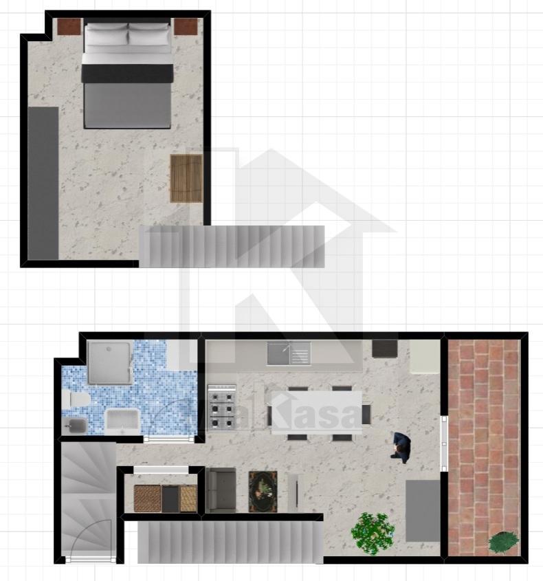 Appartamento in vendita a Origgio, 2 locali, prezzo € 57.000 | Cambio Casa.it