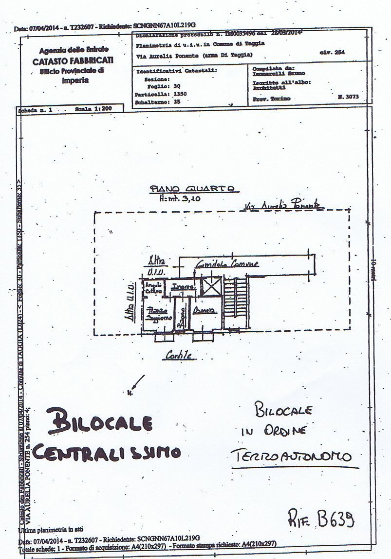 Bilocale Taggia Via Aurelia 5