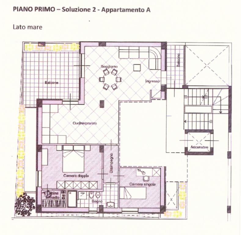 Bilocale Polignano a Mare S. Vito 11