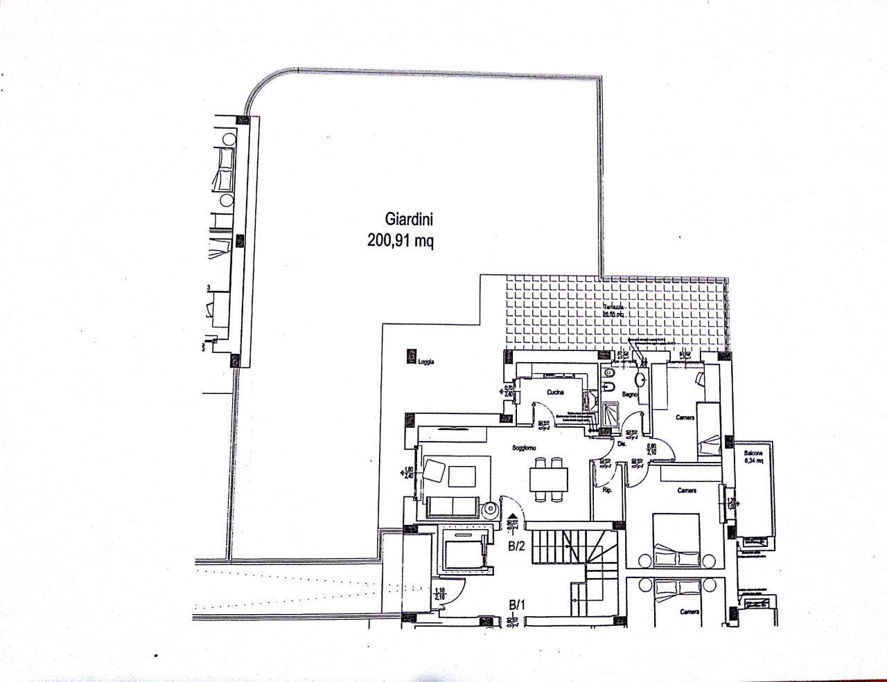Appartamento in vendita a Chiaravalle, 5 locali, prezzo € 240.000 | Cambio Casa.it