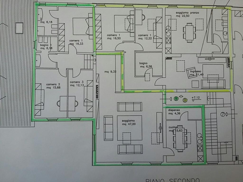 Appartamento in vendita a Cascina, 5 locali, prezzo € 275.000 | Cambio Casa.it