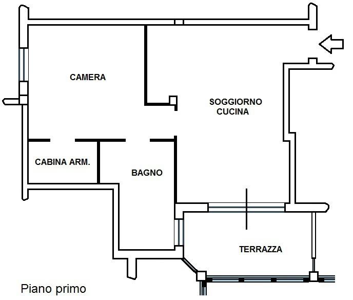 Bilocale Brescia Bovezzo 2