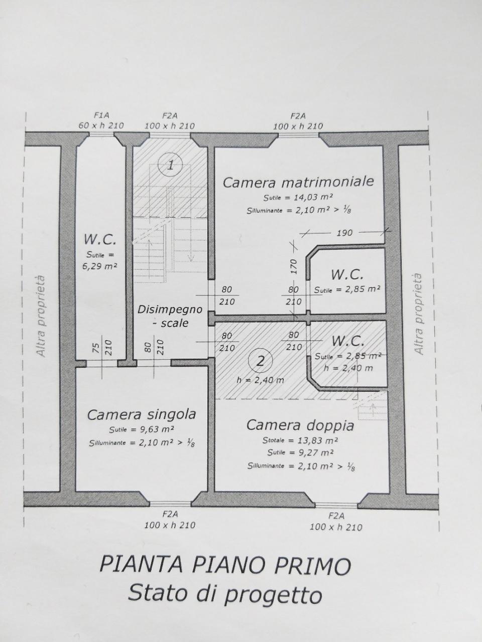 Villetta a schiera in vendita, rif. M1450