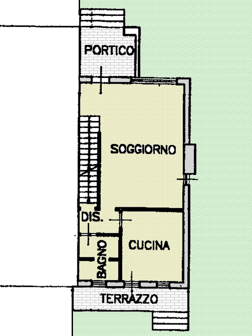 Terratetto/Terracielo in affitto - 120 mq