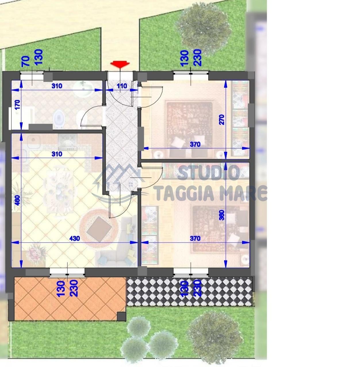 Appartamento in vendita a Pompeiana, 3 locali, prezzo € 250.000 | CambioCasa.it