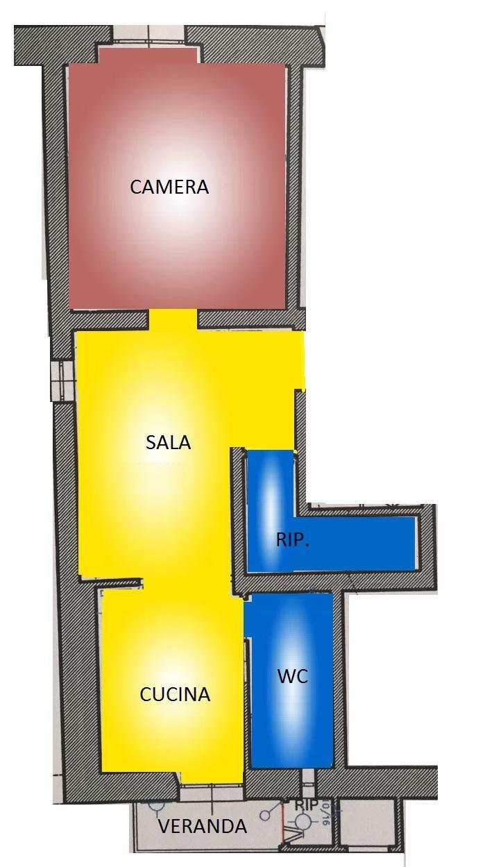 Bilocale Savona Via Torino 13