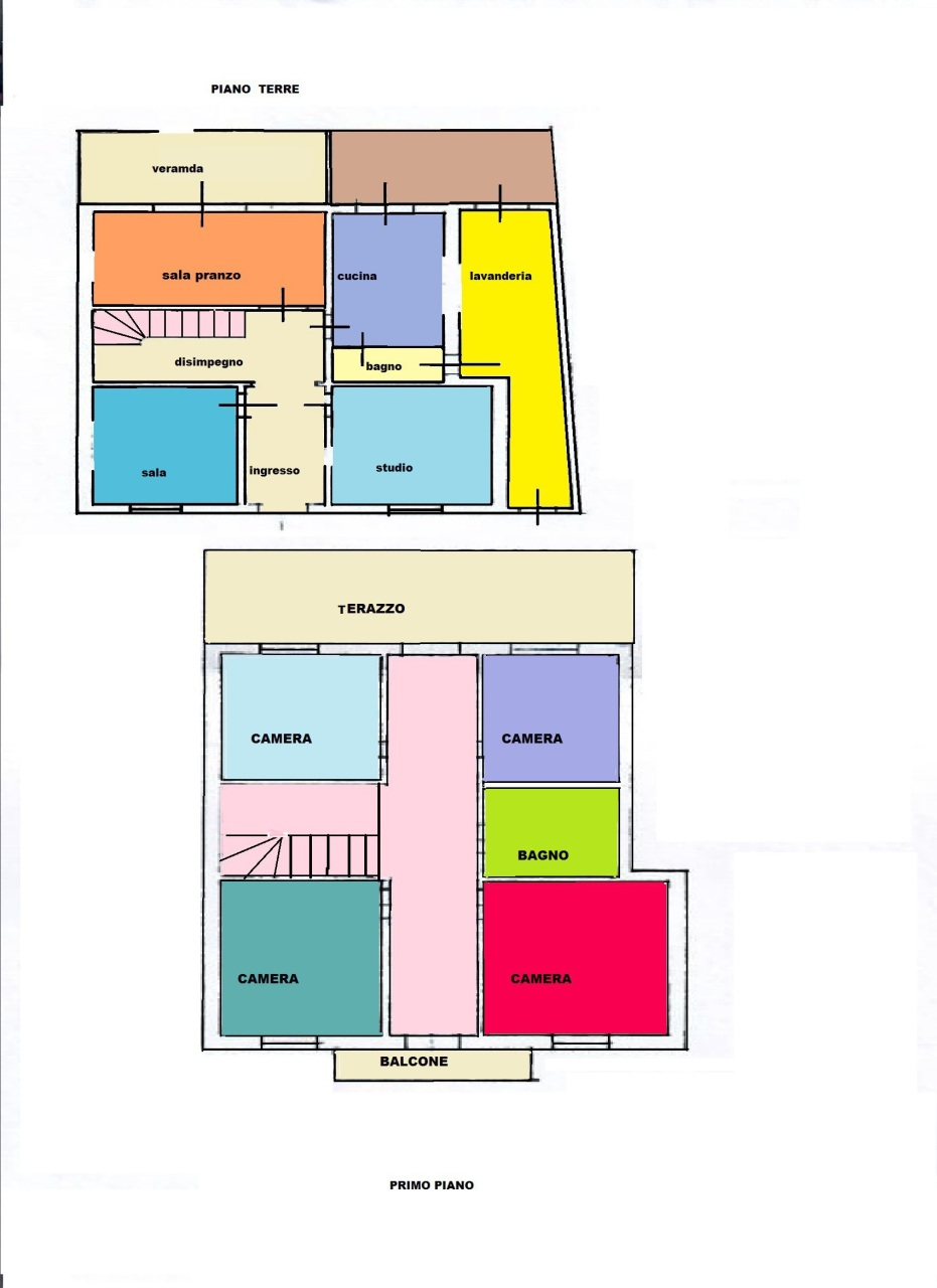 Casa semindipendente a Livorno (1/4)