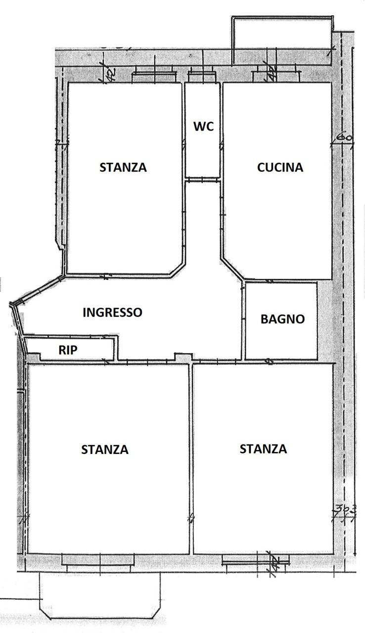 Bilocale Trieste Via Piccardi 64 12