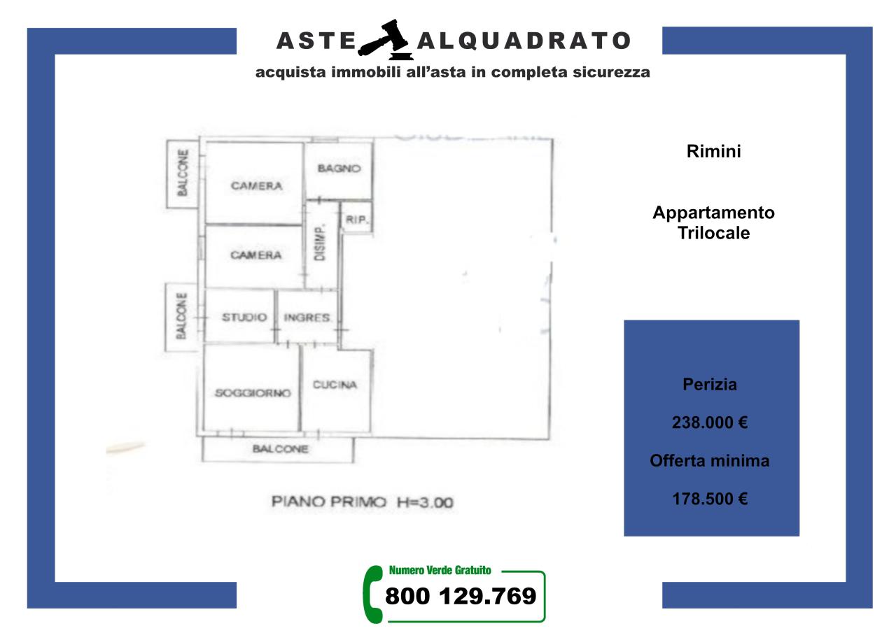 rimini vendita quart:  consulenti-immobiliari-associati-srl