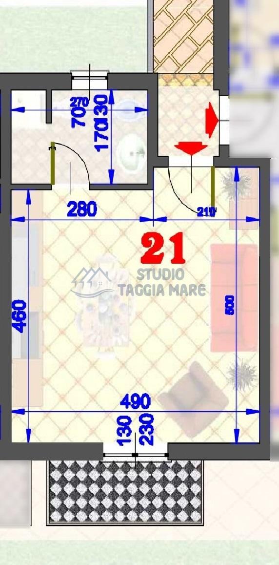 Appartamento in vendita a Pompeiana, 1 locali, prezzo € 110.000 | CambioCasa.it