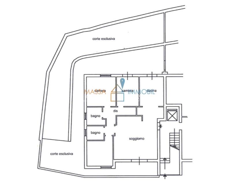 Appartamento, 120 Mq, Vendita - Massa