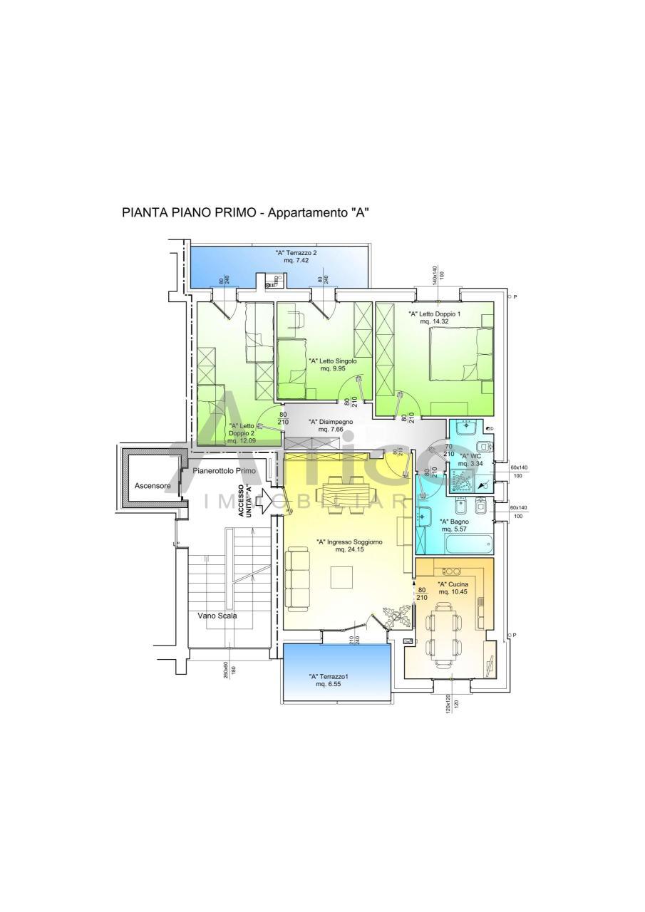 rovigo vendita quart: tassina attico-immobiliare