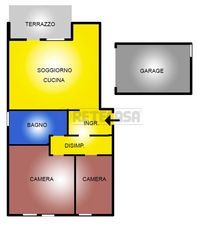 Appartamento in vendita a San Bonifacio, 4 locali, prezzo € 95.000 | Cambio Casa.it