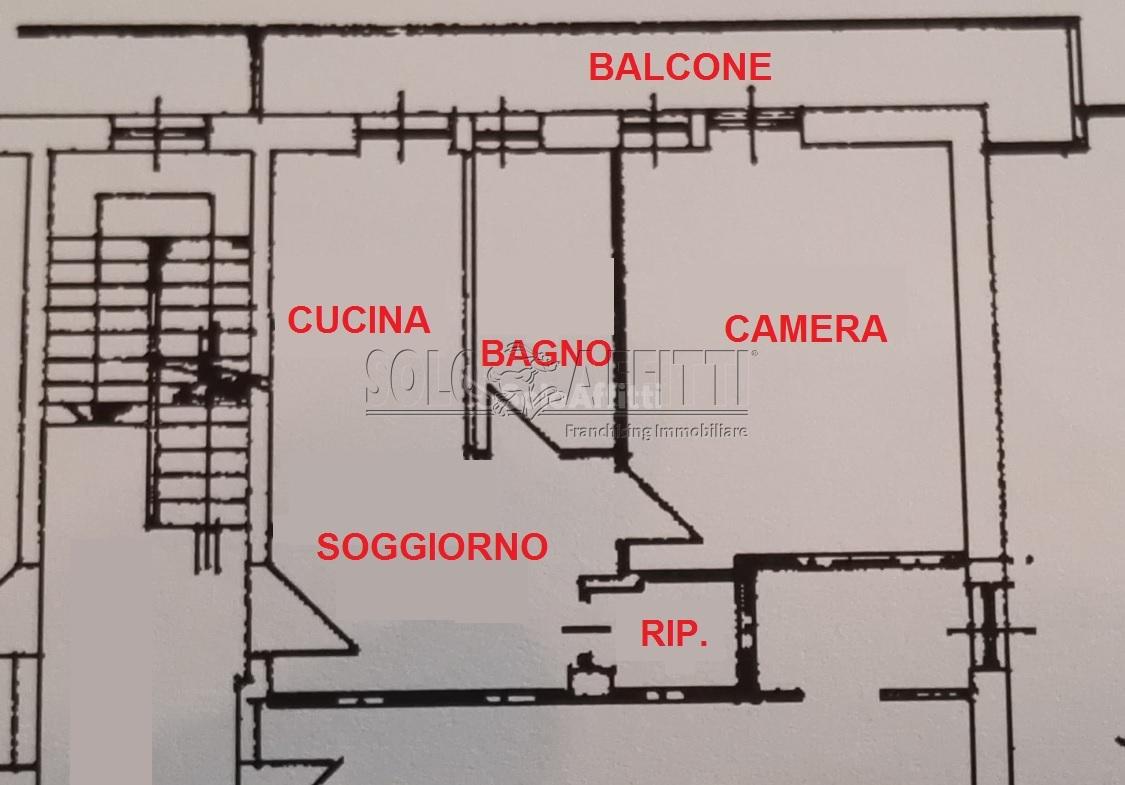 Bilocale Asti Corso Casale  299 11
