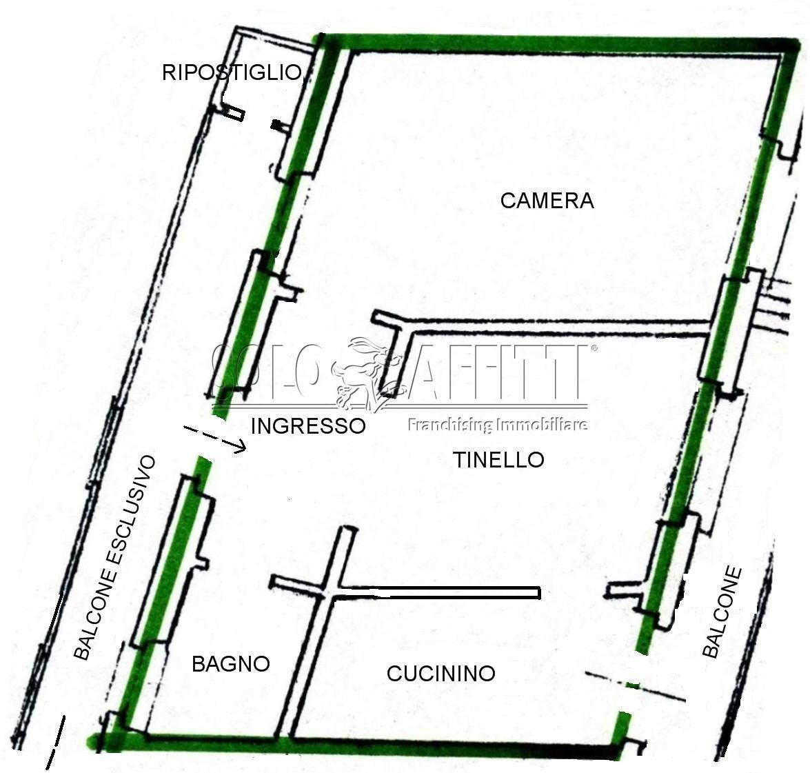 Bilocale Settimo Torinese Via Italia 62 12
