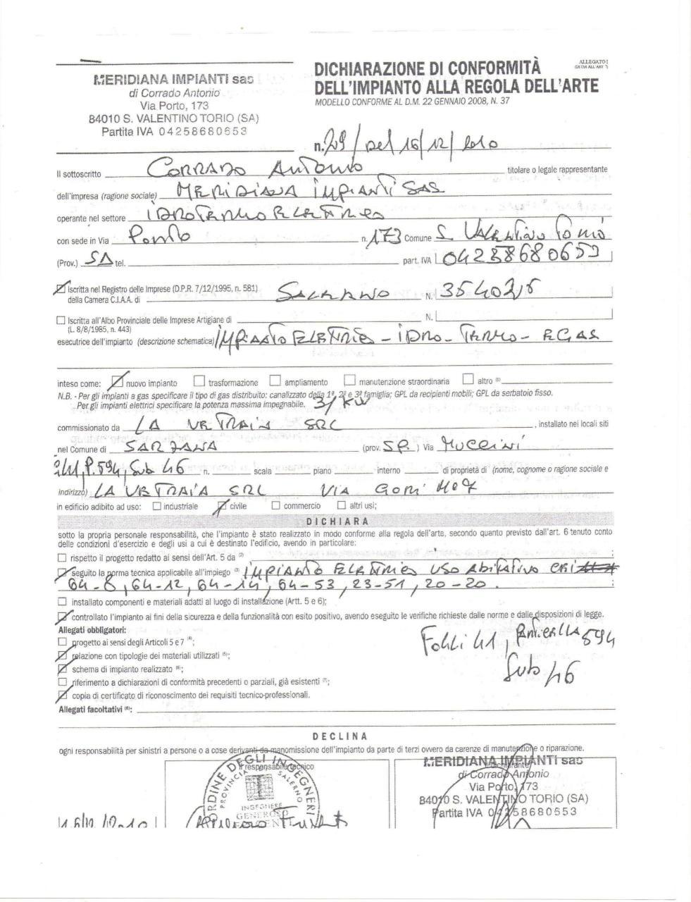 Bilocale Sarzana Via Muccini 12