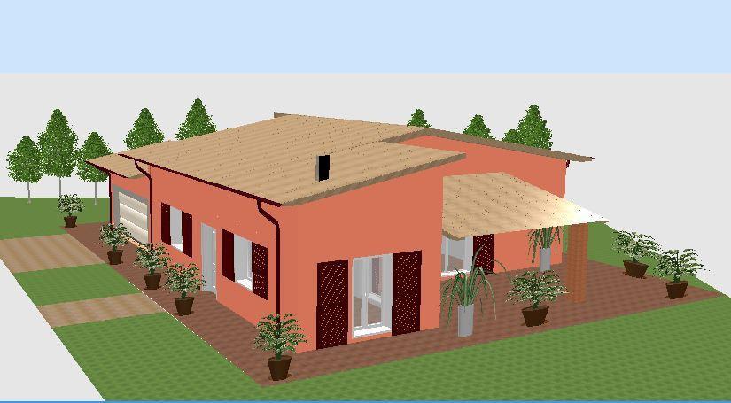 Villa in vendita a Langhirano, 4 locali, prezzo € 295.000 | Cambio Casa.it
