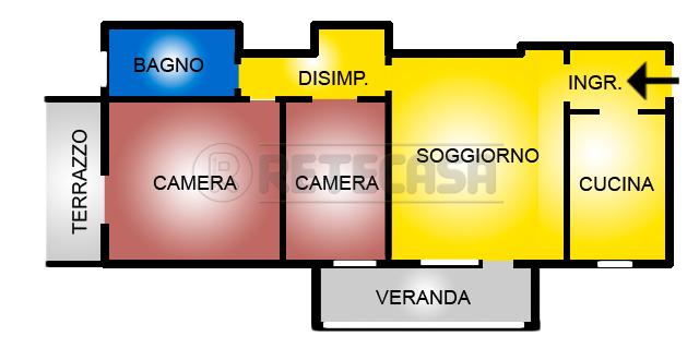 Appartamento in affitto a San Lazzaro di Savena, 4 locali, prezzo € 555 | Cambio Casa.it