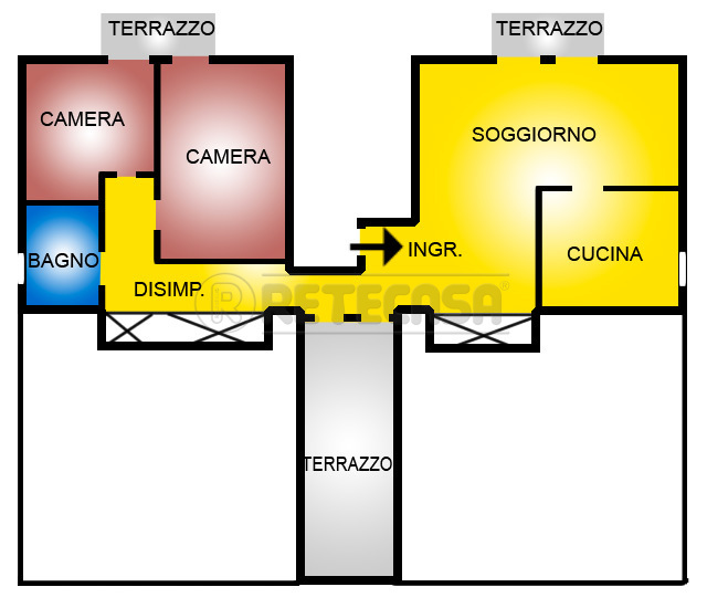 Bilocale Vicenza Viale Riviera Berica  451 12