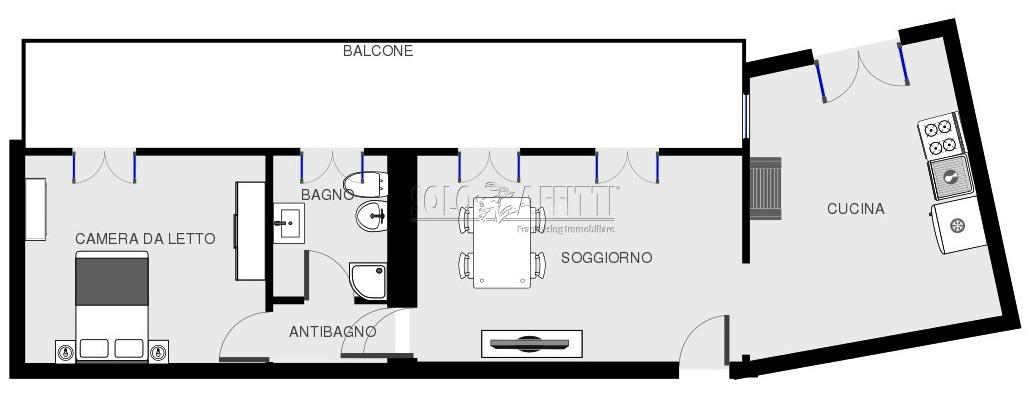Bilocale Gerenzago Via Buonarroti 20 13