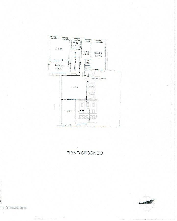 Appartamento Lucca Centro storico IA02855 img 16