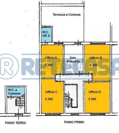 Ufficio / Studio in Affitto a Viareggio