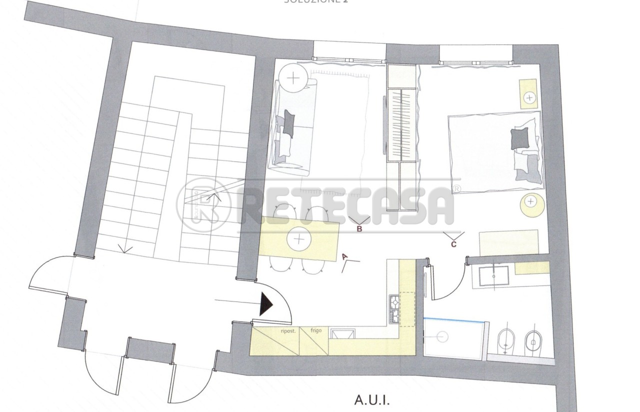 Appartamento in vendita a Montecchio Maggiore, 2 locali, prezzo € 40.000 | Cambio Casa.it