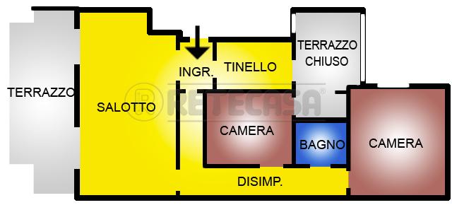 Bilocale Viareggio Piazza Garibaldi 00 2