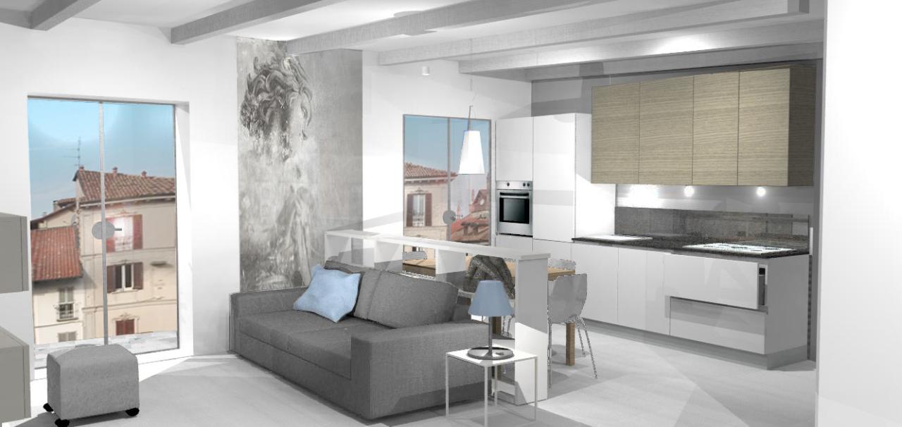 Appartamento in vendita a Pavia, 3 locali, prezzo € 409.000 | Cambio Casa.it