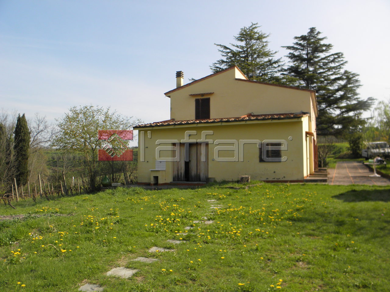 Rustico / Casale in vendita a Terricciola, 9 locali, prezzo € 350.000 | Cambio Casa.it