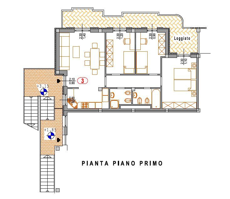Appartamento in vendita a Chiesina Uzzanese, 5 locali, prezzo € 195.000 | CambioCasa.it