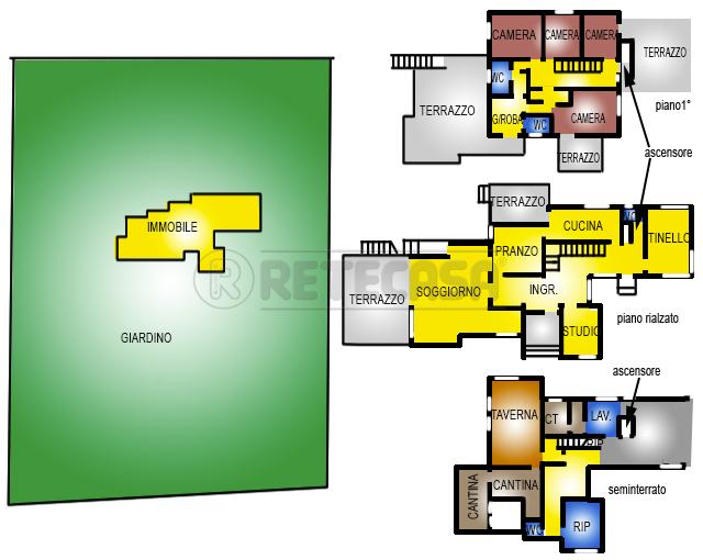 Villa in vendita a Vicenza, 16 locali, Trattative riservate | Cambio Casa.it