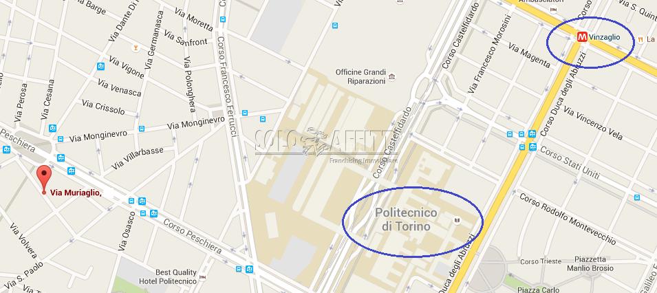 Bilocale Torino Via Muriaglio 13