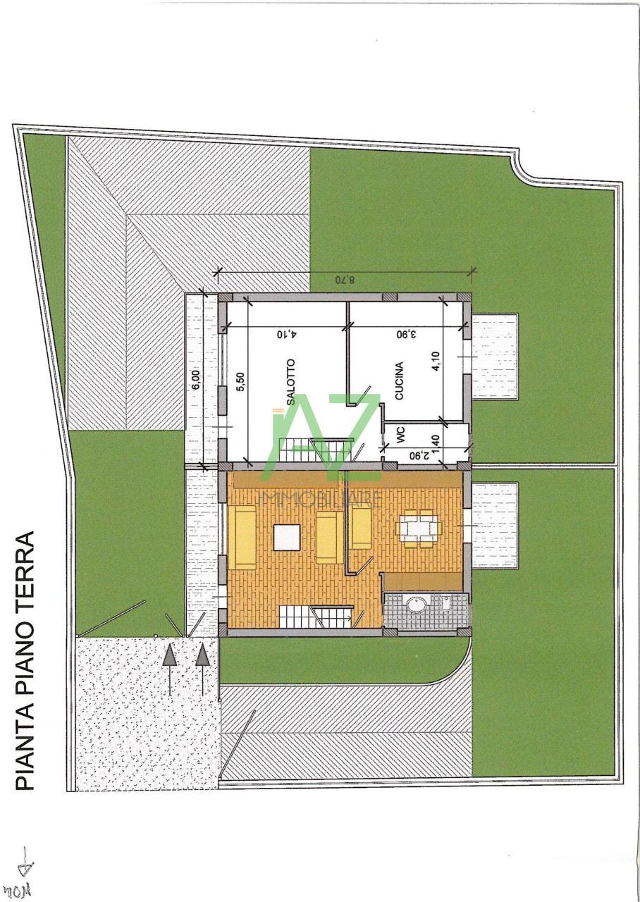 Villa in vendita a Belpasso, 4 locali, prezzo € 195.000 | Cambio Casa.it