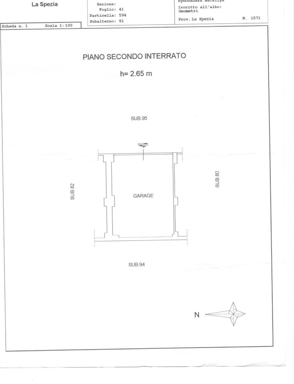 Bilocale Sarzana Via Muccini 13