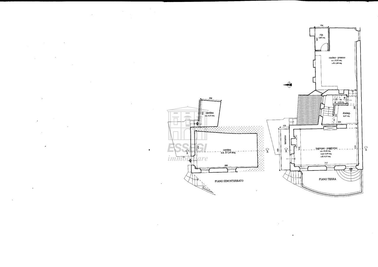 tipica casa toscana di paese sulle colline di lucca img 34