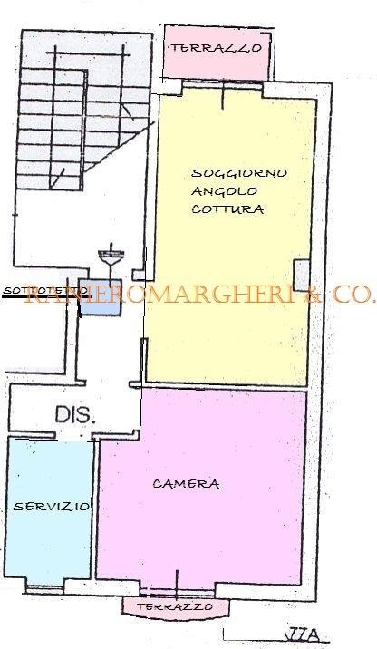 Bilocale Rufina Via Bonanni 8a 10