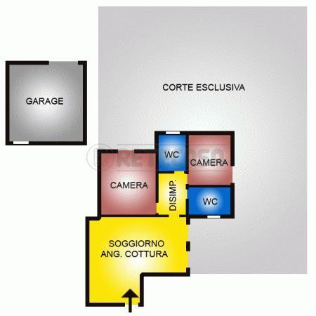 Appartamento in affitto a Montorso Vicentino, 4 locali, prezzo € 550   Cambio Casa.it