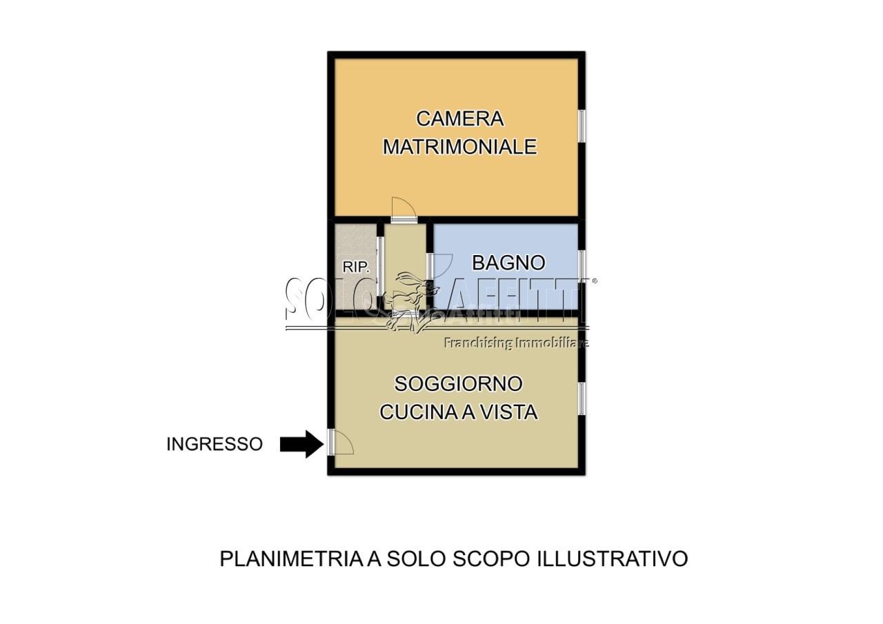 Bilocale Pavia Cascina Villa Flavia 55 11