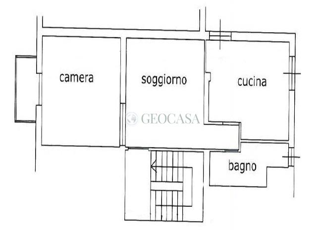 Appartamento in vendita a Vezzano Ligure, 3 locali, prezzo € 34.000 | CambioCasa.it