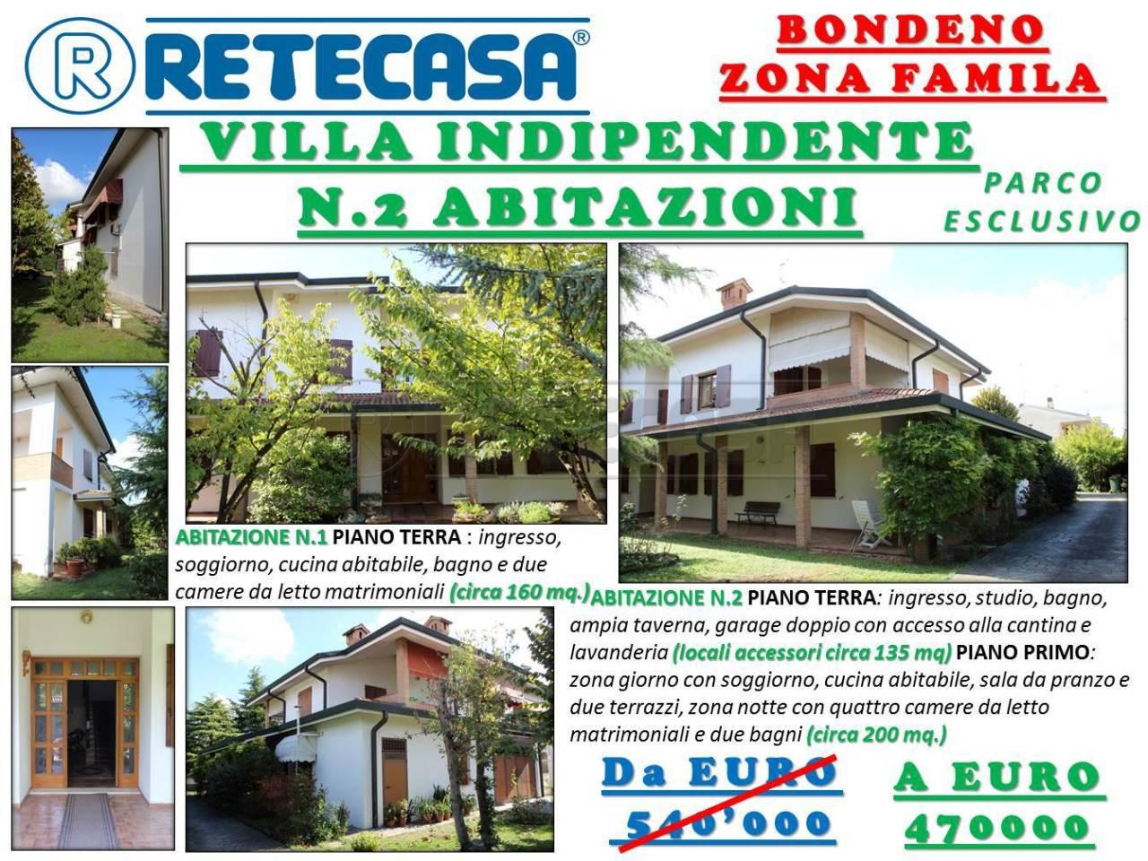 Villa in Vendita a Bondeno