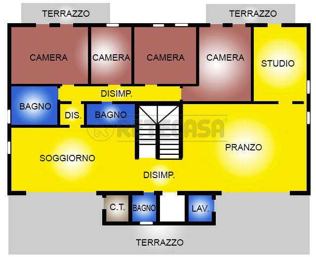 Attico / Mansarda in vendita a Bassano del Grappa, 7 locali, prezzo € 1.000.000 | Cambio Casa.it