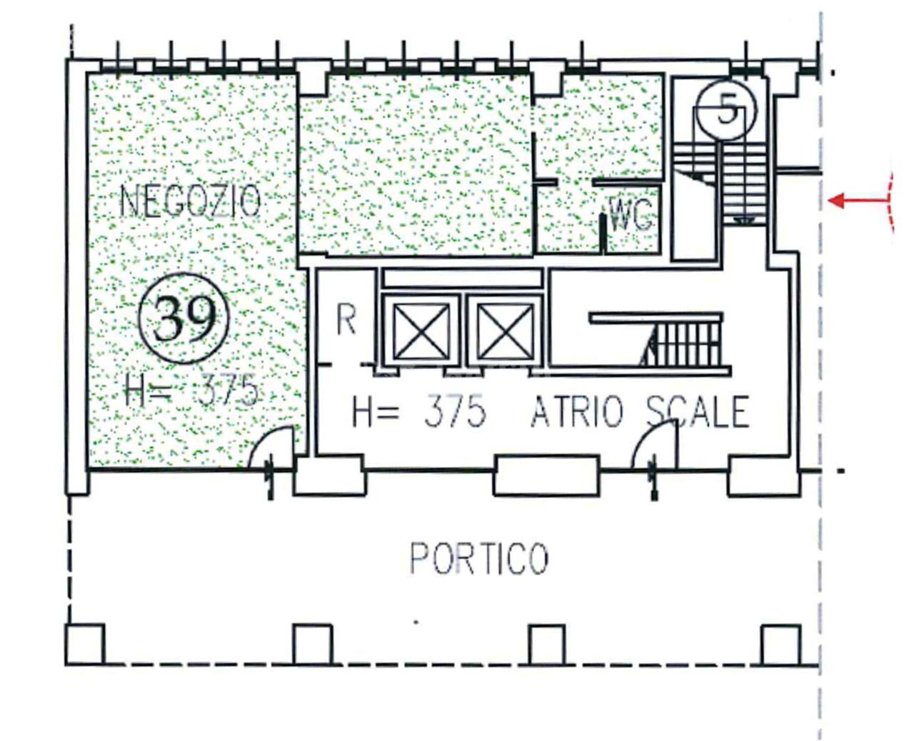 Ufficio in affitto a lecco caleotto piano terra for Affitti uso ufficio