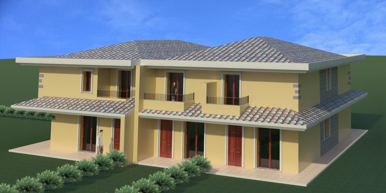 Villa a Schiera in vendita a Decimoputzu, 3 locali, prezzo € 115.000 | Cambio Casa.it