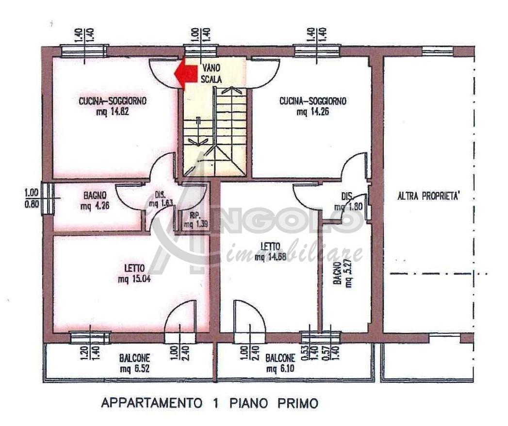 Appartamento in affitto a Gaiba, 3 locali, prezzo € 350 | Cambio Casa.it