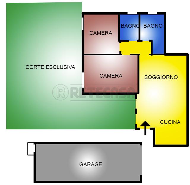 Appartamento in vendita a Isola Vicentina, 5 locali, prezzo € 140.000 | Cambio Casa.it