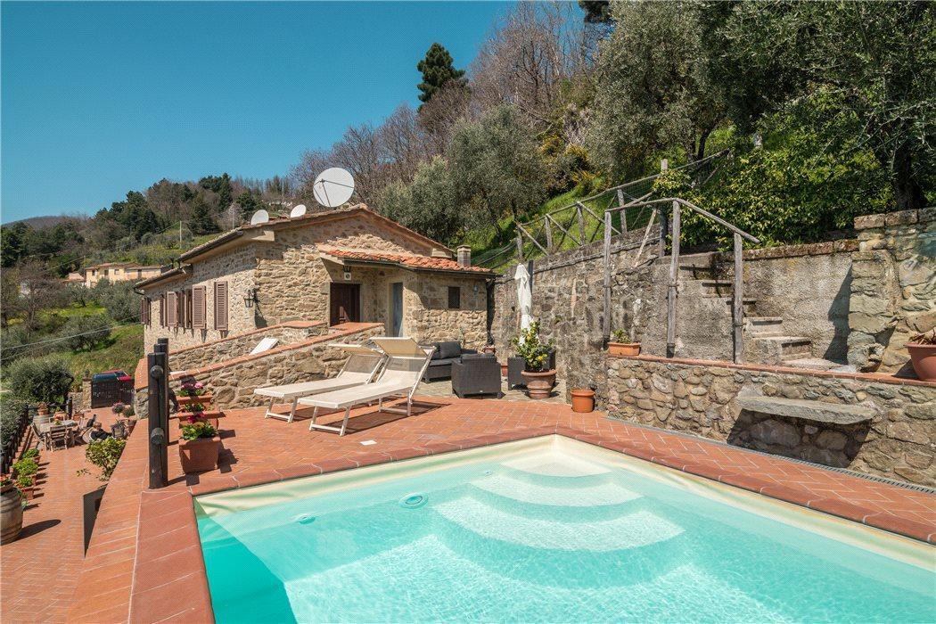 rustico ristrutturato stile toscano piscina vista bellissima img 3