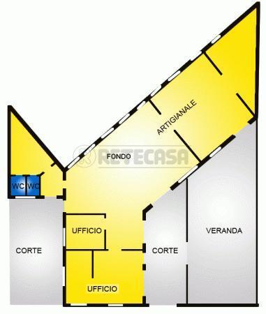 Laboratorio in vendita a Viareggio, 5 locali, prezzo € 155.000   Cambio Casa.it