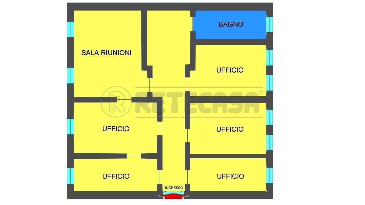 Ufficio / Studio in affitto a Mantova, 9999 locali, prezzo € 950 | Cambio Casa.it