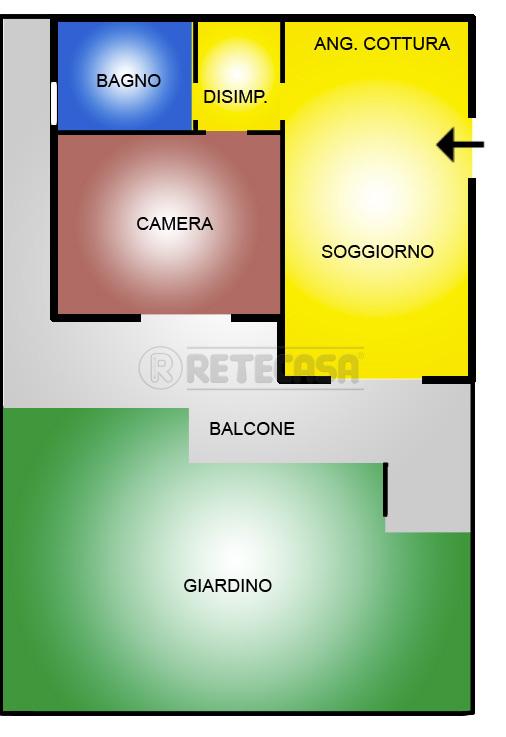 Appartamento in vendita a Pescara, 2 locali, prezzo € 105.000 | Cambio Casa.it